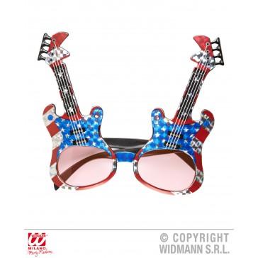 bril, gitaar