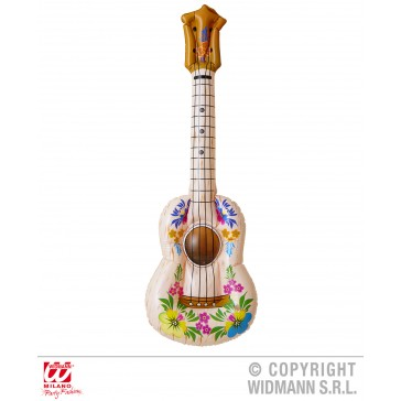 opblaasbare hula gitaar