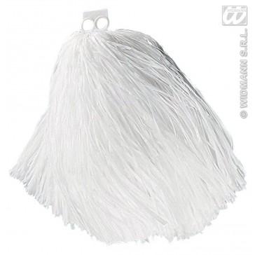 pom pom, luxe uitvoering wit