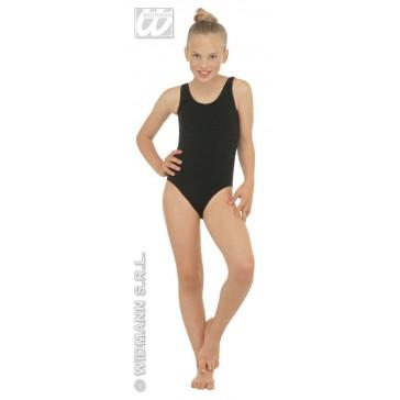 body, meisje zonder mouwen, zwart