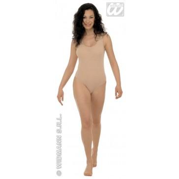 body dame, zonder mouwen, lichaamskleur