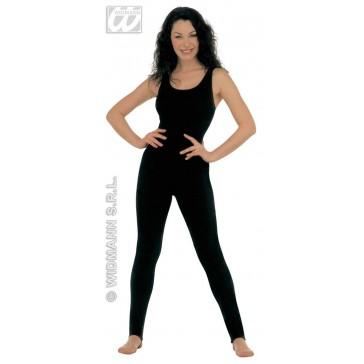 bodysuit dame, zonder mouwen, zwart