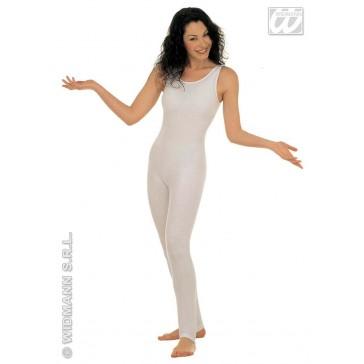 bodysuit dame, zonder mouwen, wit