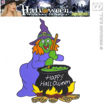 raamstickers halloween 25cm