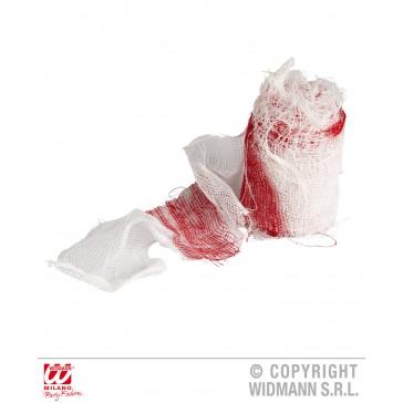 bandage met bloed 6.8 mtr