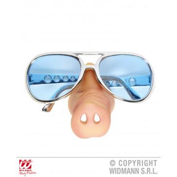 bril, varkensneus