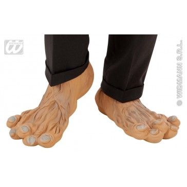 paar latex maxi voeten