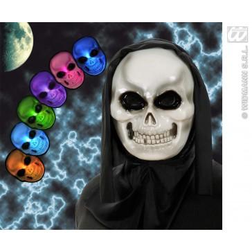 masker schedel meerkleurig lichtgevend