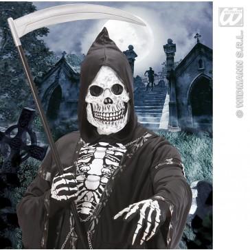 masker latex/schuim schedel