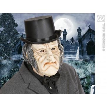 masker latex/schuim enge oude man met haar