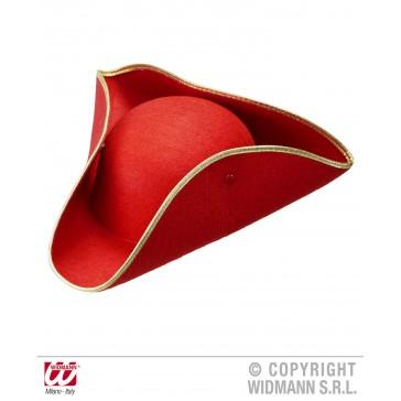 tricorn vilt, rood