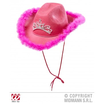 hoed cowgirl rose