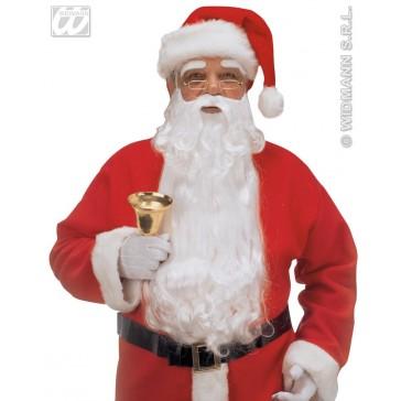 luxe kerstmanbaard met wenkbrouwen