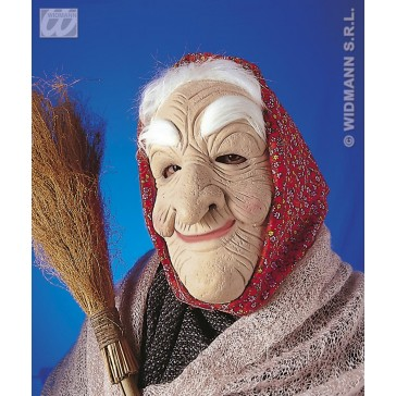 masker zigeunerin met haar en doek