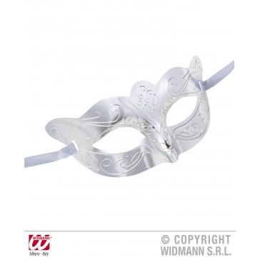 oogmasker metalic zilver