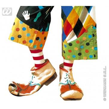 paar latex maxi clown schoenen volwassen