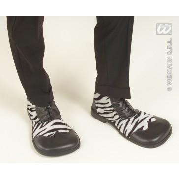 party schoenen zebra
