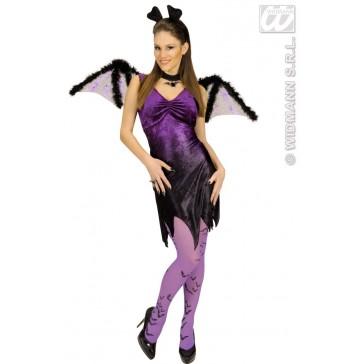 vleugels vleermuis met marabou