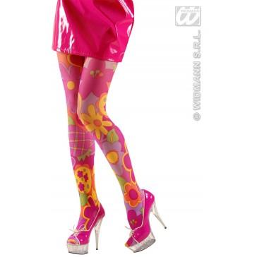 panty flower power, rose xl