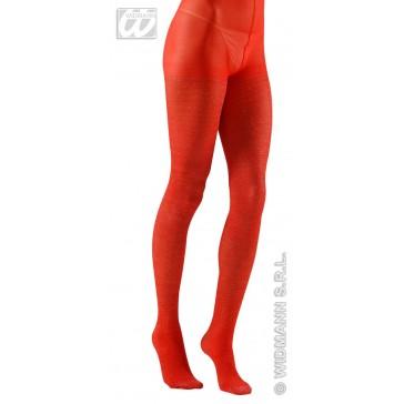 "panty 40den, glitter rood ""xl"""