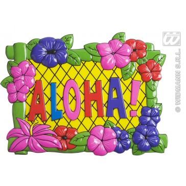 wanddecoratie aloha