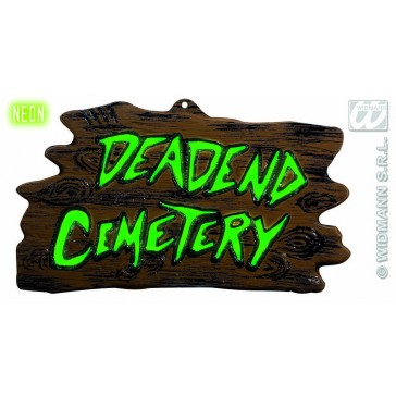 wanddecoratie begraafplaats