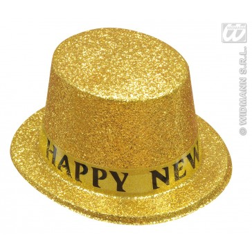 "hoge hoed  ""happy new year"" ass. kleuren"