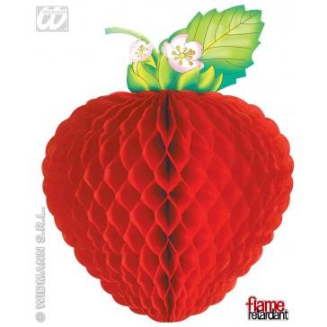 papieren slinger fruit, 3mtr (brandveilig)