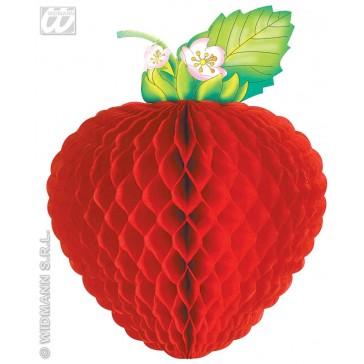 papieren decoratie fruit, jumbo 52cm