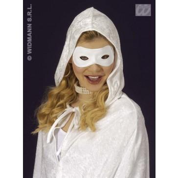 oogmasker pvc wit, beschilderbaar
