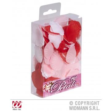 doos met 150 roosbladeren ass. kleur