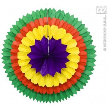 papieren decoratie 4 kleuren