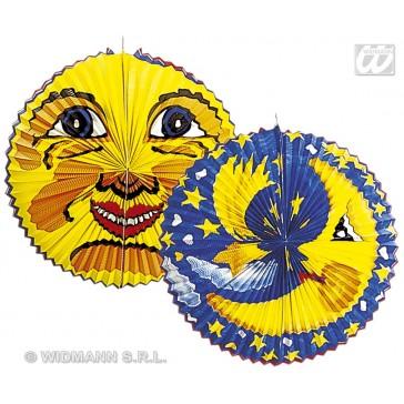"ronde lampions ""zon"" jumbo, diameter 60cm"