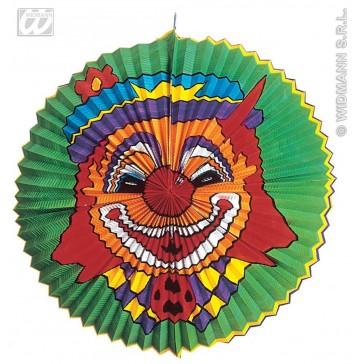 """ronde lampions """"clown"""" jumbo, diameter 60cm"""