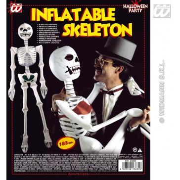 opblaasbaar skelet, 183cm