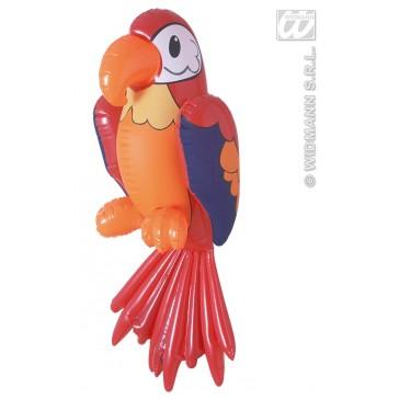 opblaasbare papegaa 60cm