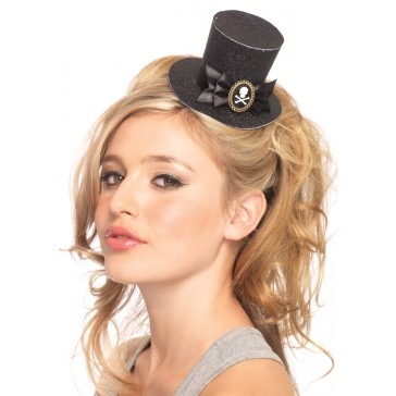 Skull Cameo Top Hat