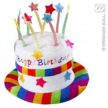 fluwelen hoed happy birthday