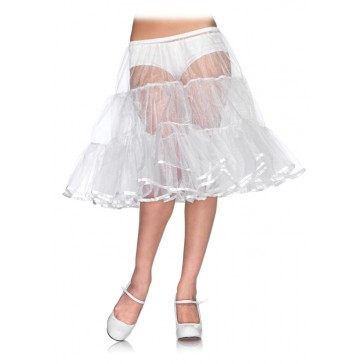 Knee Length Petticoat Skirt