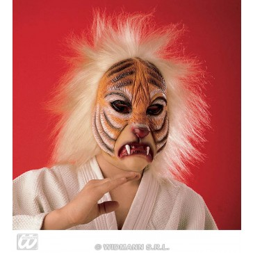 masker tijger met plush haar
