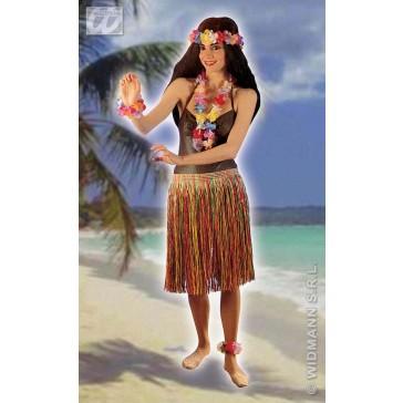hawai set, kroon ketting en 2 armbanden