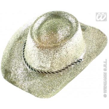 glitter cowboyhoed van pvc