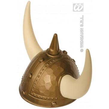 luxe viking helm met spijkers