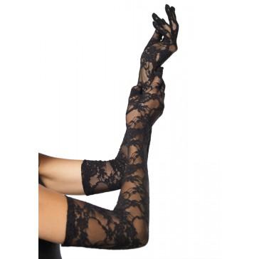 Lace Elbow Gloves Incl. 6Pcs
