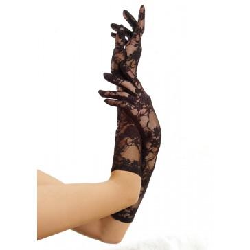Lace Wrist Gloves Incl. 6 Pcs