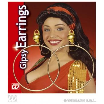 oorbellen zigeunerin