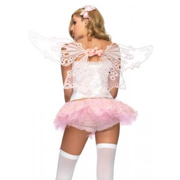 Glitter Eyelet Fairy Wings