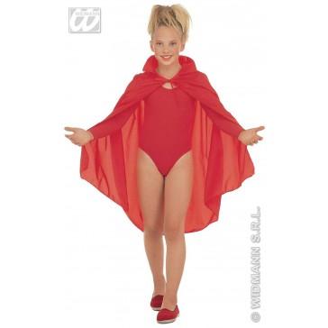rode cape, kind, 90cm