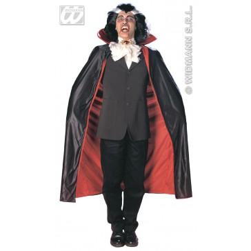 luxe cape met kraag, 135cm