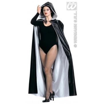 zeer luxe cape met kap, 140cm